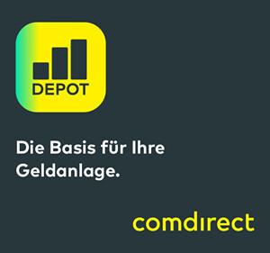 Depot eröffnen bei der comdirect