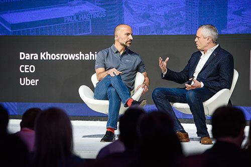 Uber Chef Dara Khosrowshahi